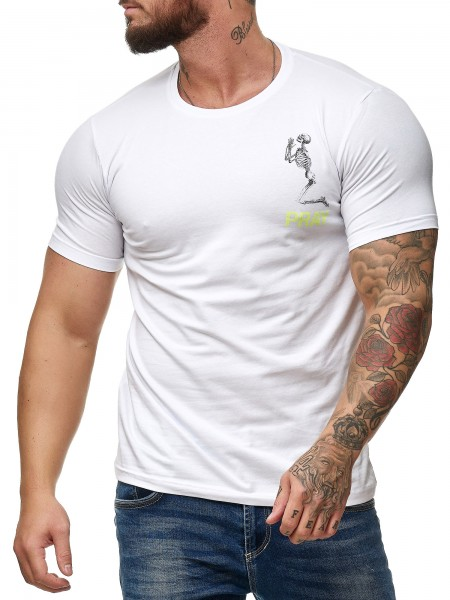 OneRedox T-Shirt homme manches courtes manches courtes polo manches courtes polo polo modèle Pray