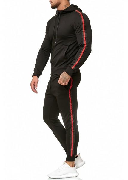 OneRedox Costume de jogging pour homme en costume de sport modèle 1004