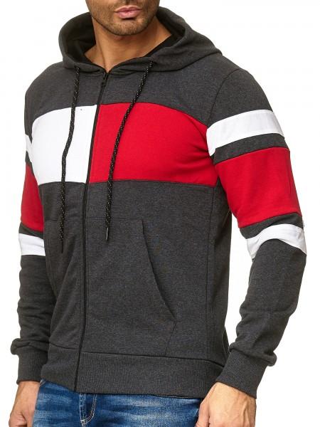 OneRedox Sweatshirt homme Sweat à capuche Sweater à capuche Pull à capuche modèle 1254