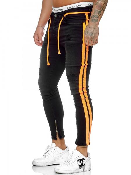 Hommes Jeans Pantalon Jeans Slim Fit Hommes Skinny Denim Designer Jeans j-8001-so