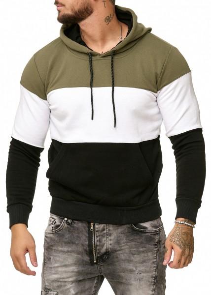 OneRedox Sweatshirt homme Sweat à capuche Sweater à capuche Pull à capuche modèle 1237
