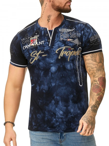 """OneRedox T-shirt homme Sweat à capuche à manches longues Sweat à manches courtes Sweat-shirt """"St.-tropez"""