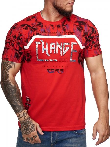 T-Shirt homme T-Shirt Poloshirt Polo manches courtes imprimé Polo manches courtes 3ds6
