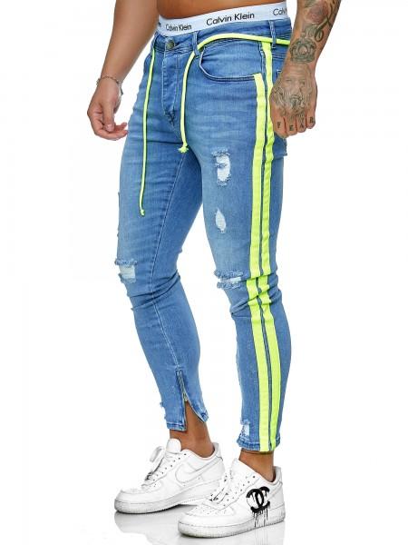 Jeans Pantalon Jeans Homme Slim Fit Jeans Skinny Denim Homme Designer Jeans j-8003-bg
