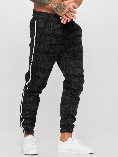 OneRedox Hommes | Pantalon de survêtement | Pantalon de survêtement | Pantalon de survêtement | Sport Fitness | Gym | Entraînement | Slim Fit | Sweatpants à rayures | Pantalon de survêtement | Modèle 1227