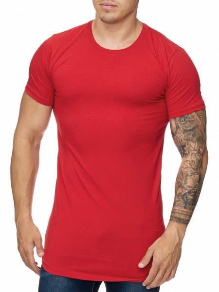 OneRedox Chemise pour homme Sweat à capuche à manches longues Chemise à manches courtes Sweatshirt T-Shirt 1023