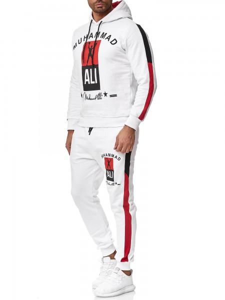 OneRedox Survêtement de jogging pour homme survêtement de boxe Ali modèle 3462