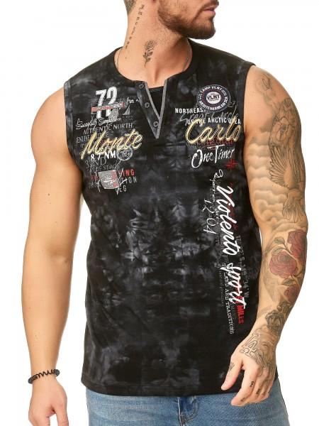 OneRedox T-shirt homme à capuche Hoodie manches longues